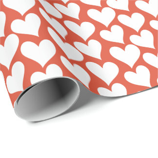 Many Hearts Wrapping Paper
