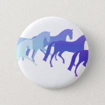 Many Horses (blues) Button