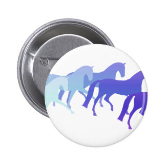 Many Horses (blues) Button
