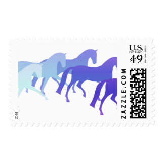 Many Horses (blues) Stamps