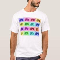 Many Hues of Hedgehogs T-Shirt