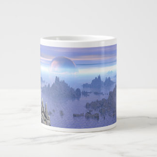 Many Islands Large Coffee Mug