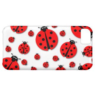 Many Ladybugs Shadows Case For iPhone 5C