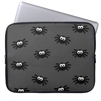 Many little spiders laptop computer sleeves