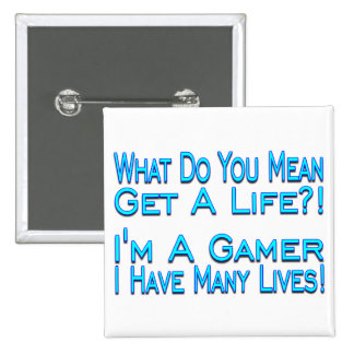 Many Lives Button