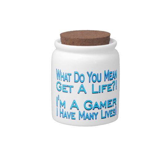 Many Lives Gamer Candy Jars