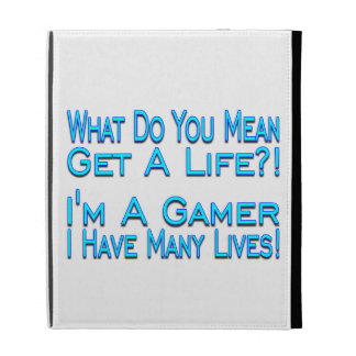 Many Lives Gamer iPad Cases