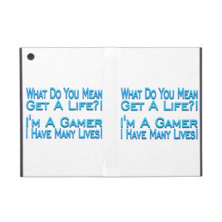 Many Lives Gamer iPad Mini Cover