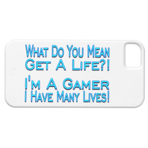 Many Lives Gamer iPhone 5 Cases