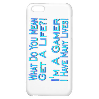 Many Lives Gamer iPhone 5C Covers