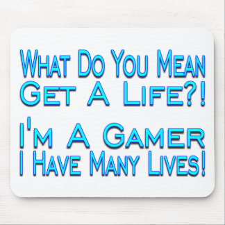 Many Lives Gamer Mouse Pad