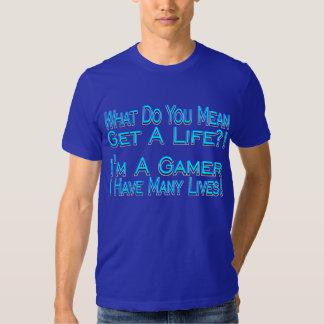 Many Lives Gamer Shirt