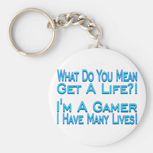 Many Lives Keychain