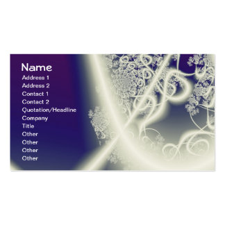Many Mansions Fine Fractal Art Double-Sided Standard Business Cards (Pack Of 100)