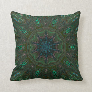 Many Mansions. Throw Pillow