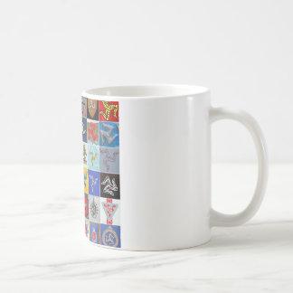 Many Manx legs mug