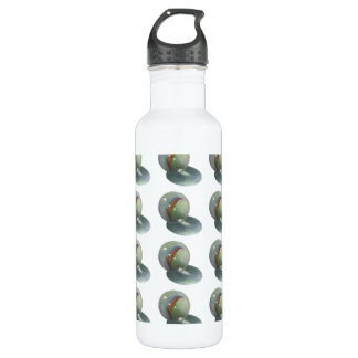 Many Marbles: Original Drawing in Color Pencil 24oz Water Bottle