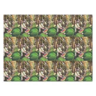 Many Men, Many Melons, Budapest Tissue Paper