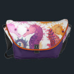 "Many Messenger Bag<br><div class=""desc"">Seahorses</div>"