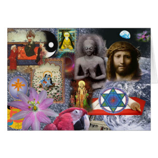 Many Messengers of a One God Greeting Card