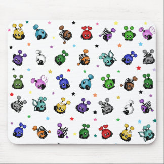 many Mimiplushies cute Mouse Pad