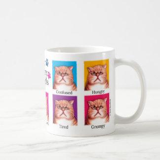 Many Moods Coffee Mug