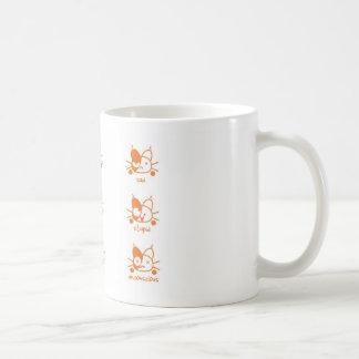 Many Moods of Cats Coffee Mug