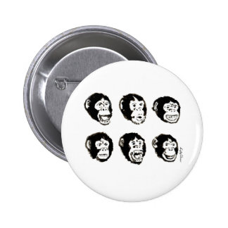 Many Moods of Mr. Chimp Buttons
