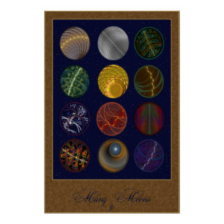 Many Moons Poster