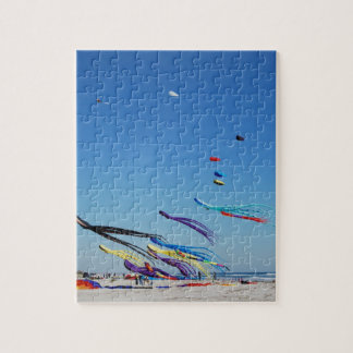 Many Multi Color Kites Jigsaw Puzzle