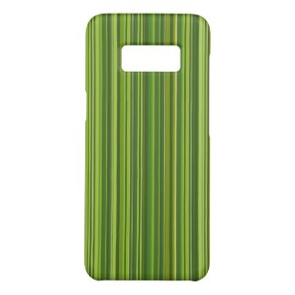 Many multi colored stripes in green Case-Mate samsung galaxy s8 case
