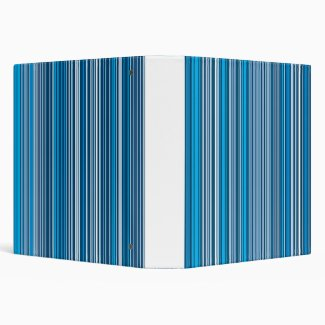 Many multi colored stripes in the blue...