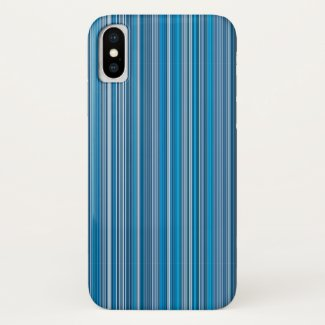 Many multi colored stripes into the blue…