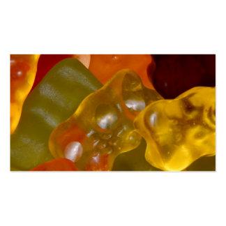 Many multicolored Gummibärchen Business Card
