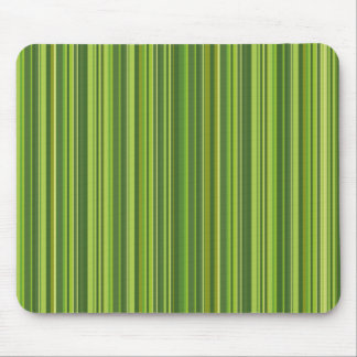 Many multicolored strips in the green sample mouse pad