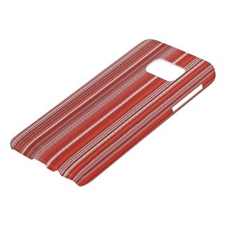 Many multicolored strips in the red sample samsung galaxy s7 case