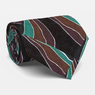 """""""Many Paths"""" Abstract Design Tie"""