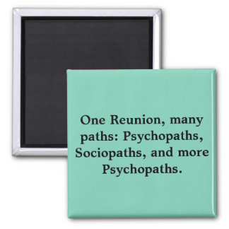 Many Paths Funny Family Reunion Magnet