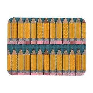 Many Pencils Magnet