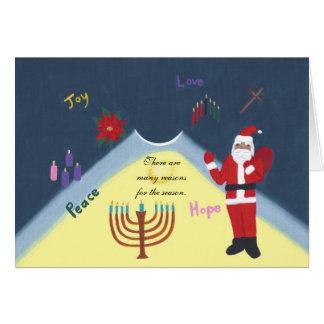 Many Reasons for the Season Christmas Holiday Card