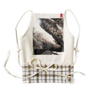 Many rocks zazzle HEART apron