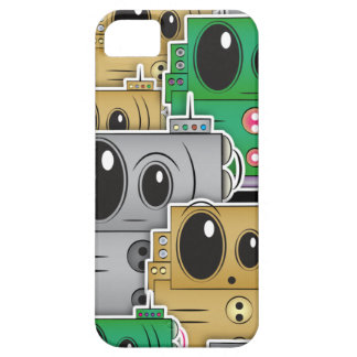 Many Roll Robots iPhone - Black iPhone 5 Case