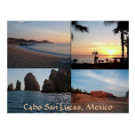 Many scenes from Cabo postcard
