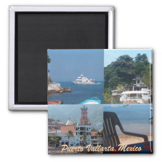 many scenes from Puerto vallarta magnet