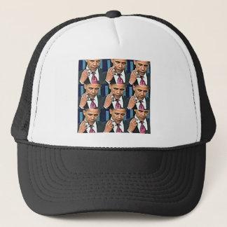 Many Sides of Obama Trucker Hat