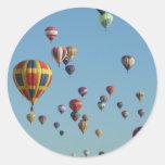 Many Small Balloons Sticker