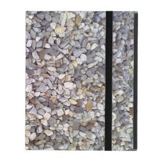 Many small stones iPad case