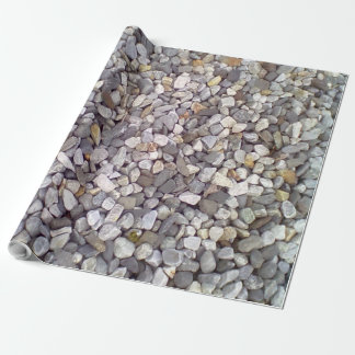 Many small stones wrapping paper