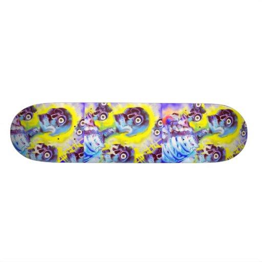 Many Souls Skateboard Design