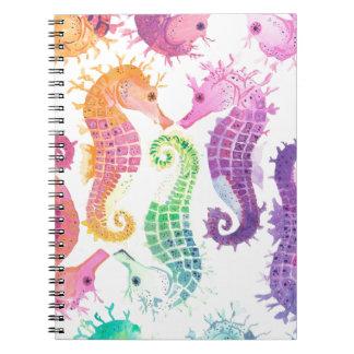 Many Spiral Notebook